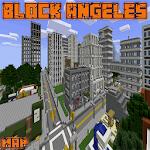 Block Angeles Map MCPE for pc logo