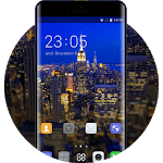 Theme for Gionee S6 Pro HD: Night City icon