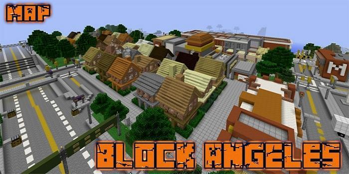 Block Angeles Map MCPE pc screenshot 1