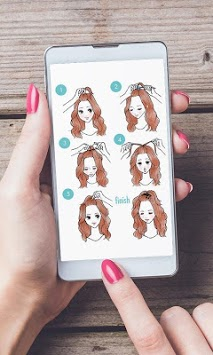 Hair fashion step by step pc screenshot 1